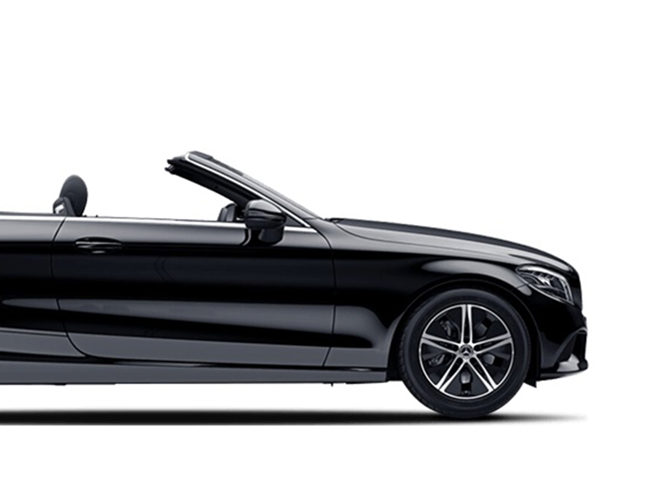Mercedes C-Class Convertible car for hire