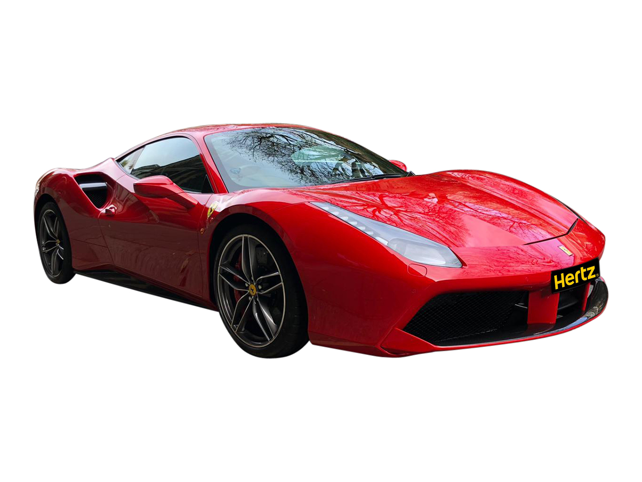 Ferrari 488 GTB car for hire