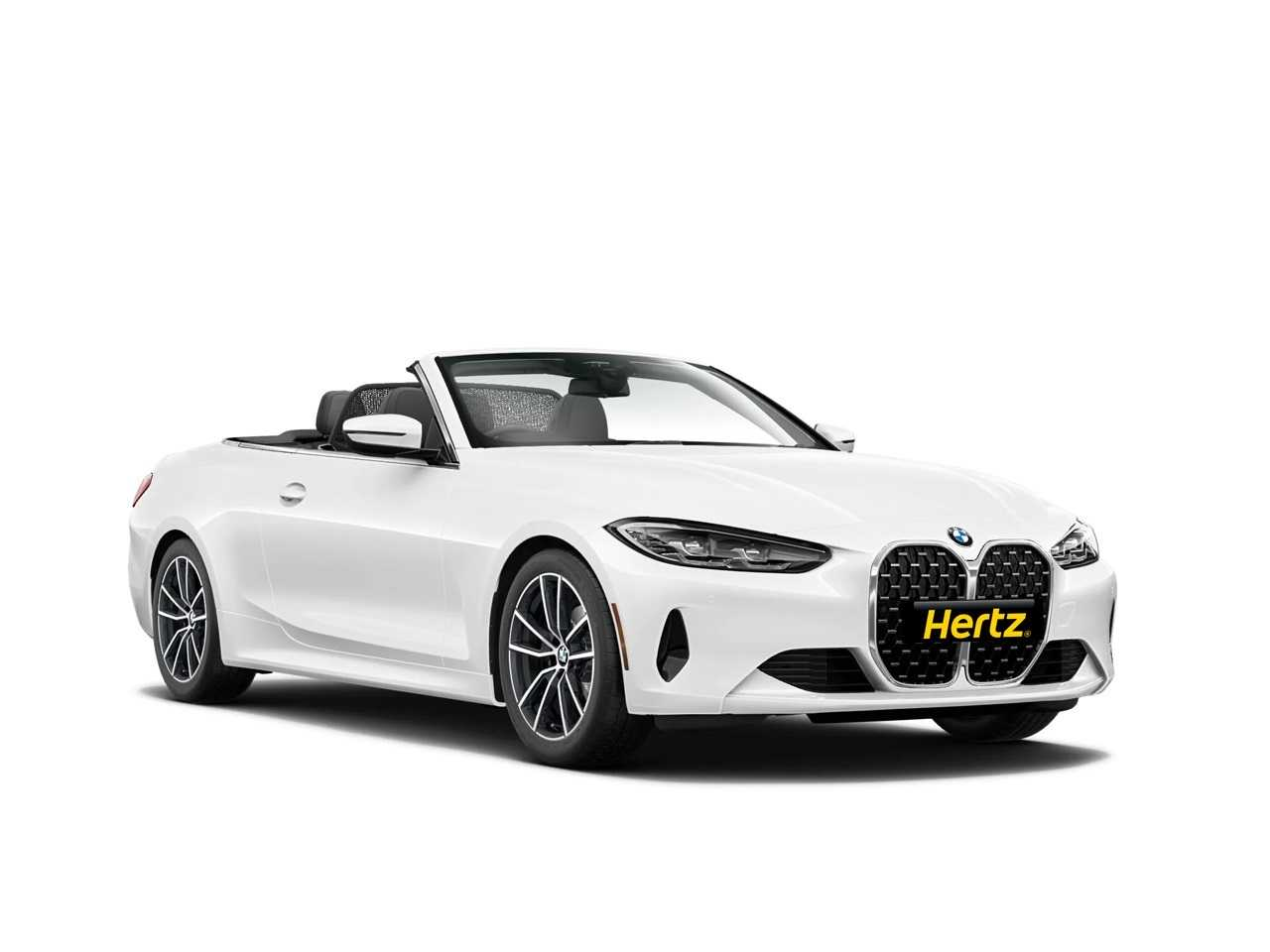 BMW 420 Convertible  car for hire