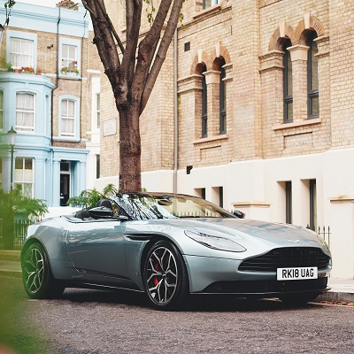 Aston Martin Car Hire In London Uk Hertz Dream Collection