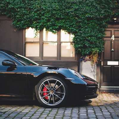 Porsche car hire/rental in london from Herz Dream Collection